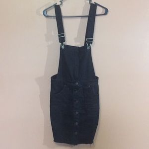 NWOT Sky And Sparrow Black Overalls